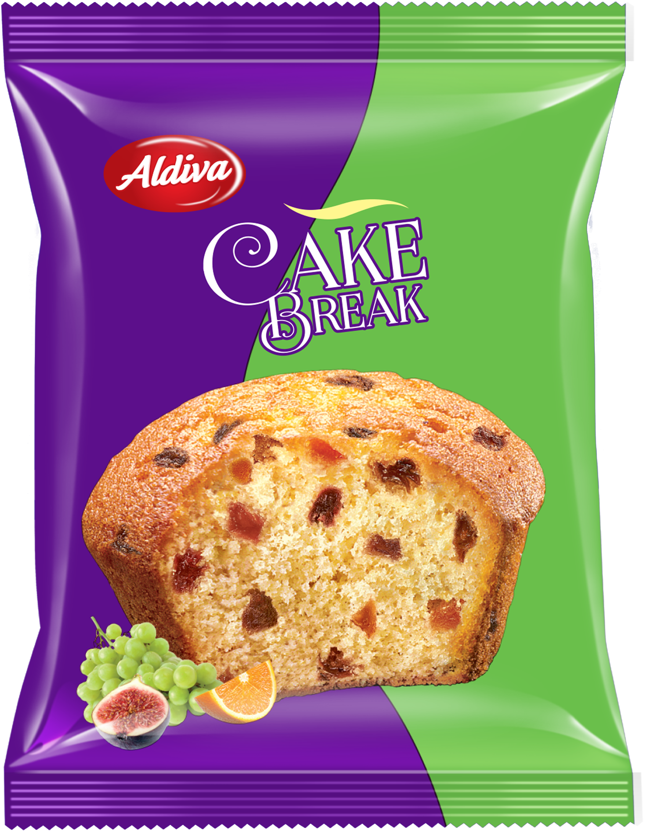 Cake Break Muffin Cake with Fruits 30g