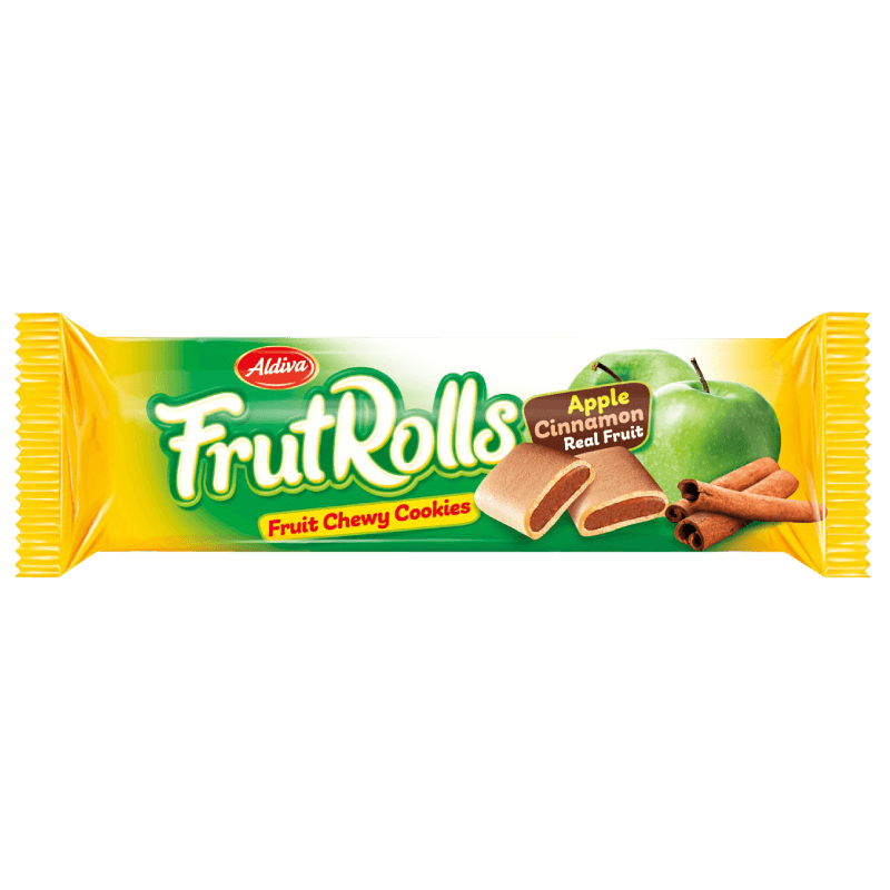 Aldiva FrutRolls Apple & Cinnamon Filled Cookies