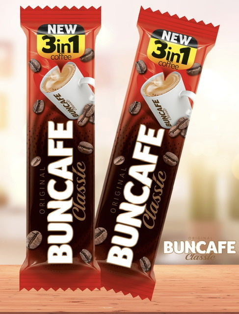 Aldiva BunCafe 3 in 1 Instant Coffee 12g