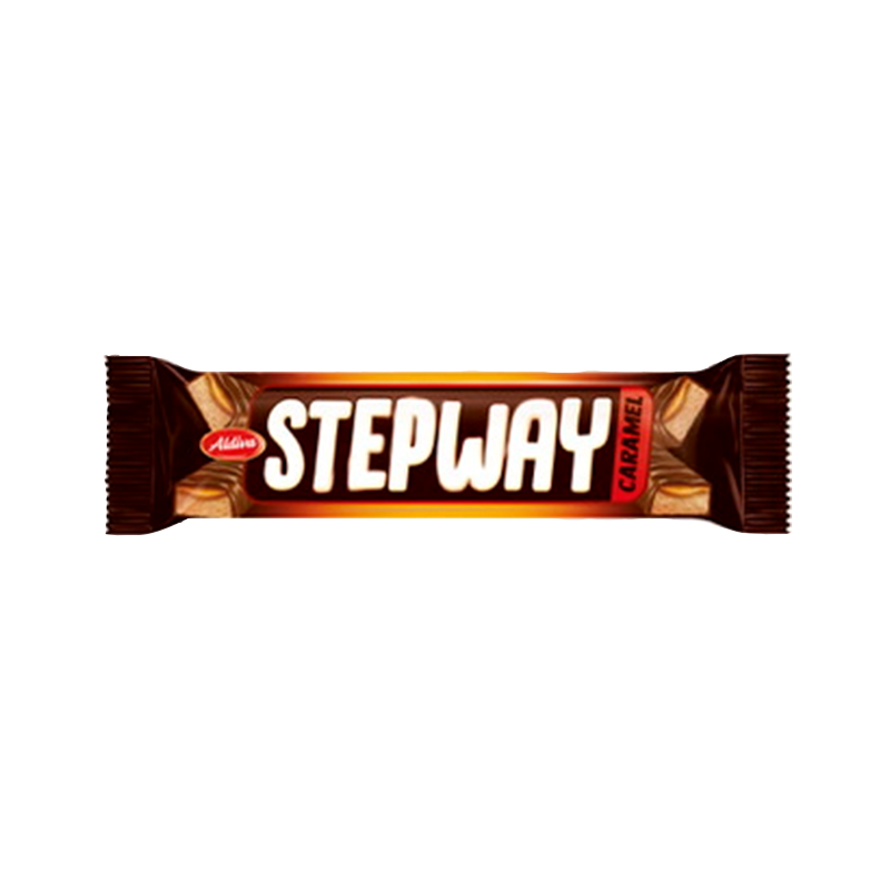Stepway Nougat and Caramel Chocolate Bar